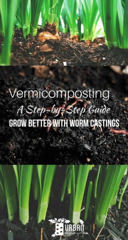 Vermicomposting - Grow Better With Worm Castings Both Indoors and Outdoors infographic