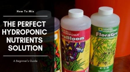 A Beginner's Guide to Mixing the Perfect Hydroponic Nutrients Solution