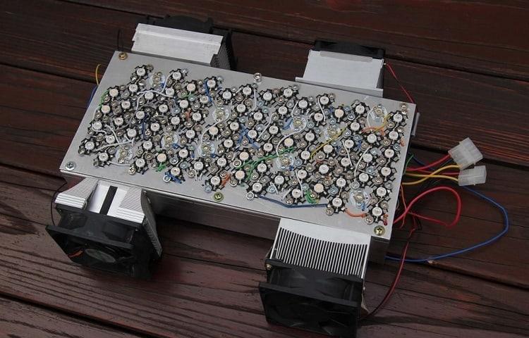Using 3W LED's Housed In Aluminum