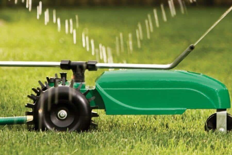 Consider a Walking Sprinkler System