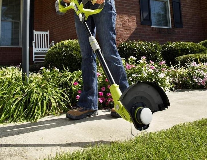 Ryobi 18-Volt Lithium-Ion Cordless String Trimmer-Edger Review