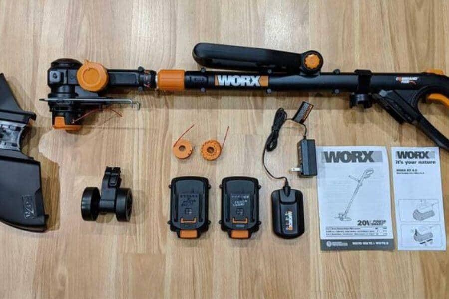 WORX WG163 GT 3.0 20V Cordless String Trimmer & Edger