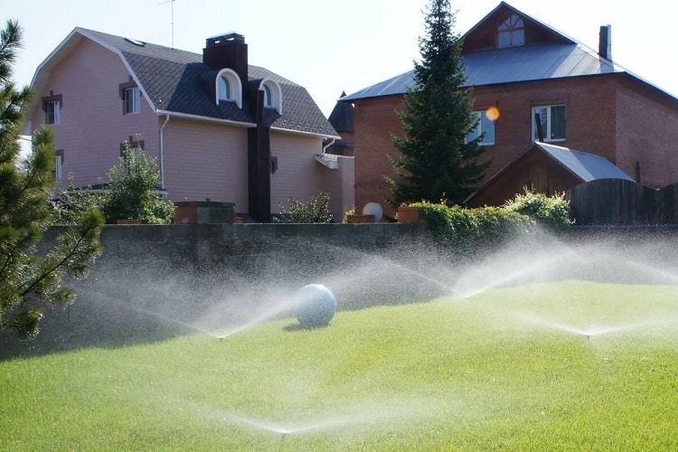 The Amount Of Water Needed When Lawn Watering Using A Sprinkler System