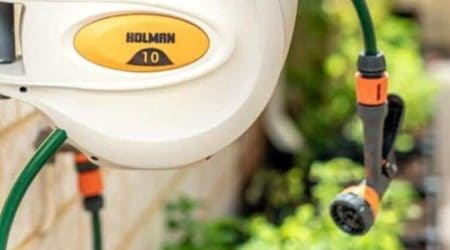 Best Retractable Garden Hose Reel_ Top 5 Self Winding Option To Buy In 2019