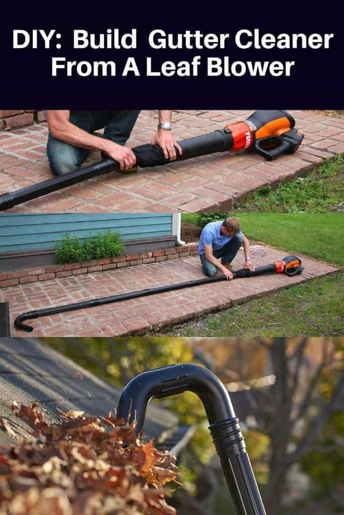 Homemade DIY_ How To Make A Gutter Cleaner From A Leaf Blower (3)