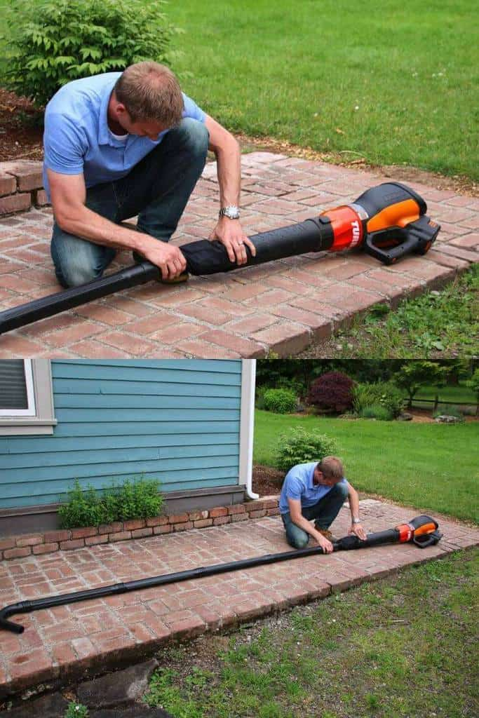 Homemade DIY_ How To Make A Gutter Cleaner From A Leaf Blower
