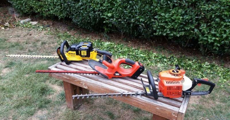 How To Sharpen Hedge Trimmer Blades Using Mill File, Power Grinder, And Dremel