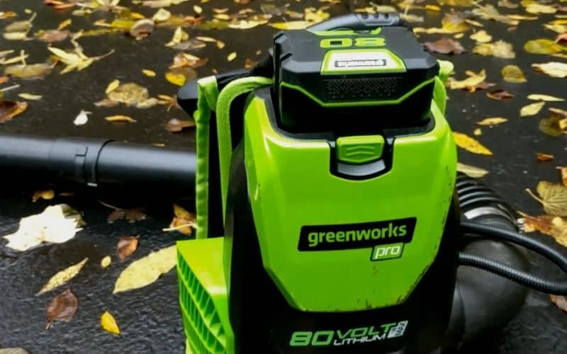 Most Powerful_Greenworks Bpb80l00 80v Cordless Backpack Blower