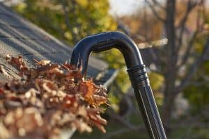 Homemade DIY: How To Make A Gutter Cleaner From A Leaf Blower