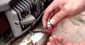 How To Tell When It Is Time To Change Bad Spark Plug In A Lawnmower