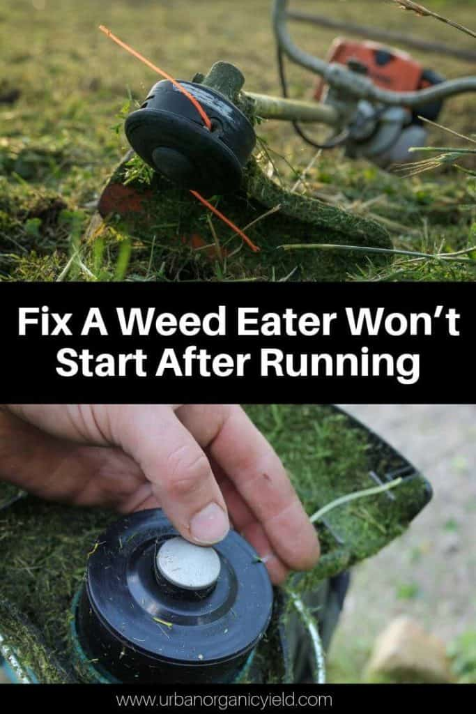 Troubleshoot And Fix A Weed Eater Won't Start After Running