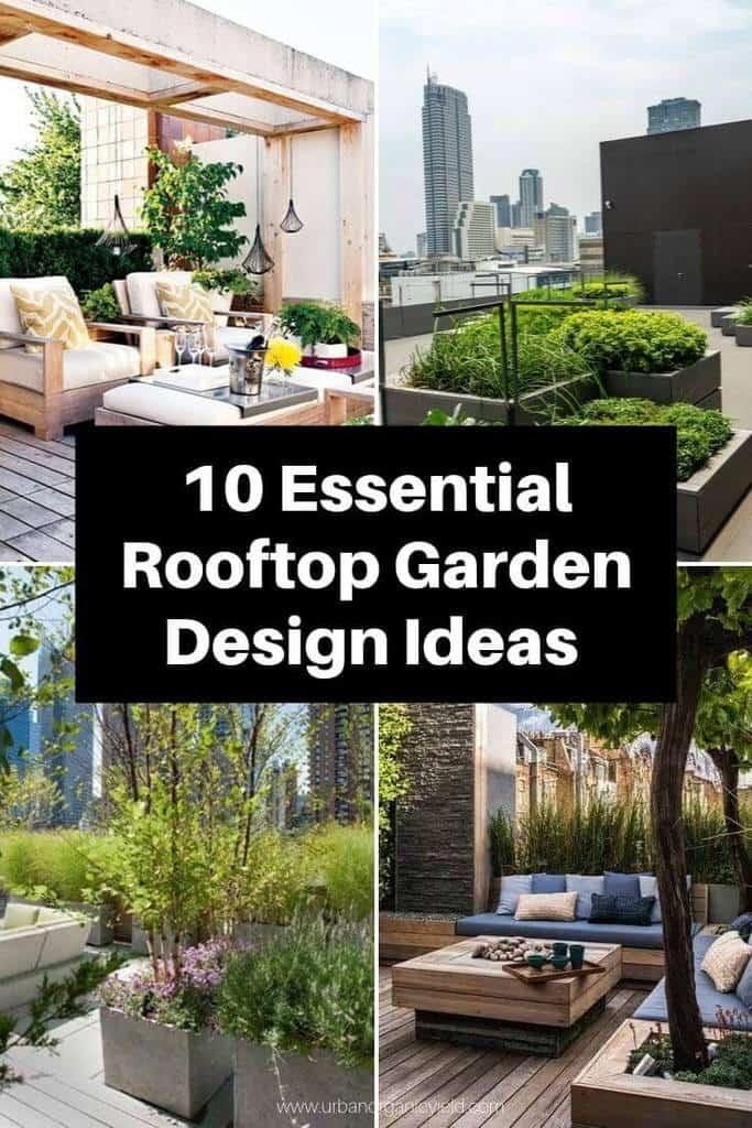 10 Essential Rooftop Garden Design Ideas & Tips