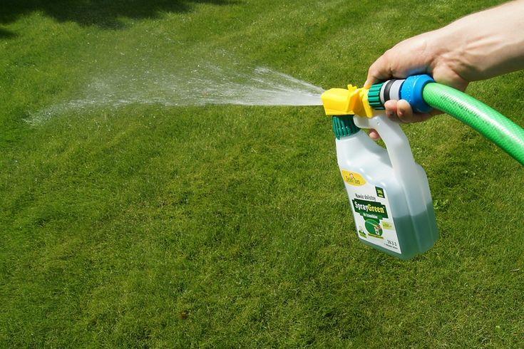 Using Liquid Lawn Fertilizer