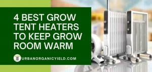 4 Best Grow Tent Heaters To Keep Grow Room Warm During Winter