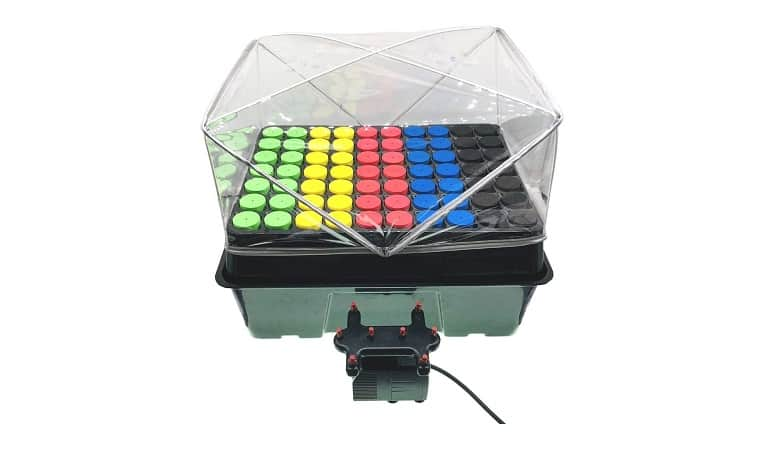 HortiPots Aeroponic Cloner System And Plant Cutting Germination Kit