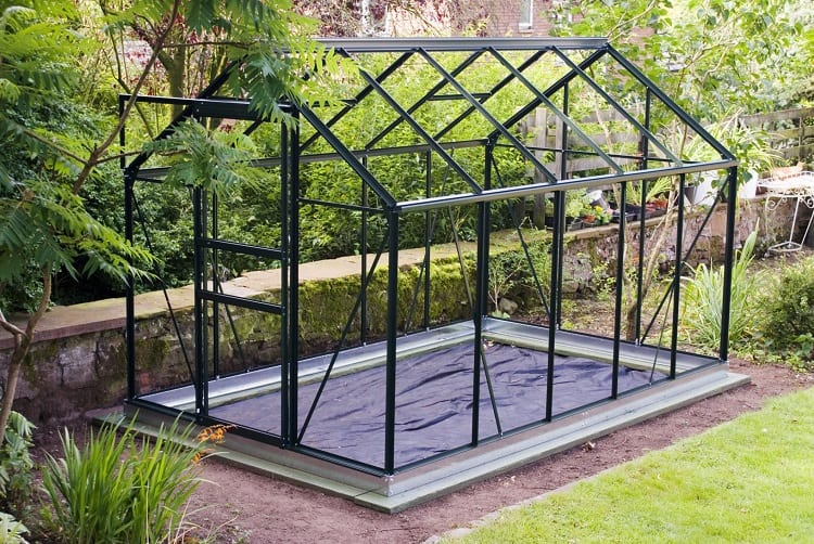Small Aluminum Greenhouse