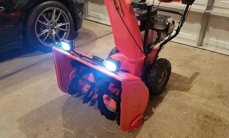 Snow Blower LED Headlights