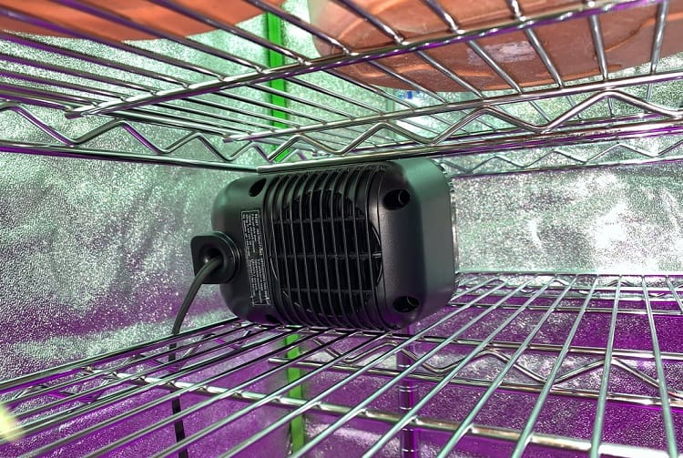 Heater In Small Grow Tent
