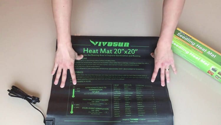 Heat Mat In Hands
