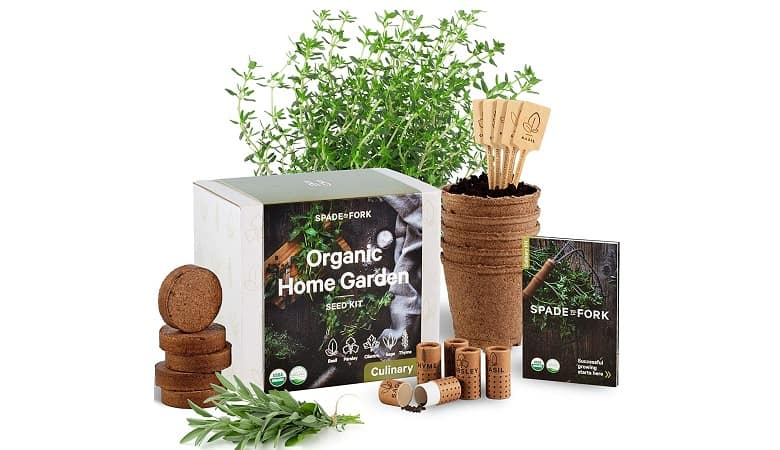 Indoor Herb Garden Starter Kit USDA