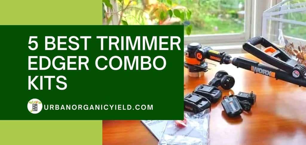 5 Best Trimmer Edger Combo Kits
