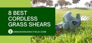 8 best cordless grass shears