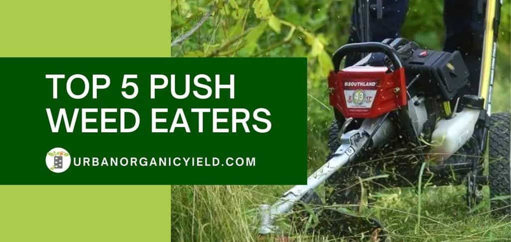 Best Walk Behind String Trimmer Review: Top 5 Push Weed Eaters [year] | UrbanOrganicYield.com