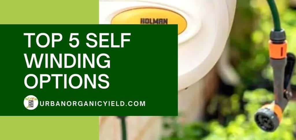 Best Retractable Garden Hose Reel: Top 5 Self Winding Option To Buy In [year] | UrbanOrganicYield.com