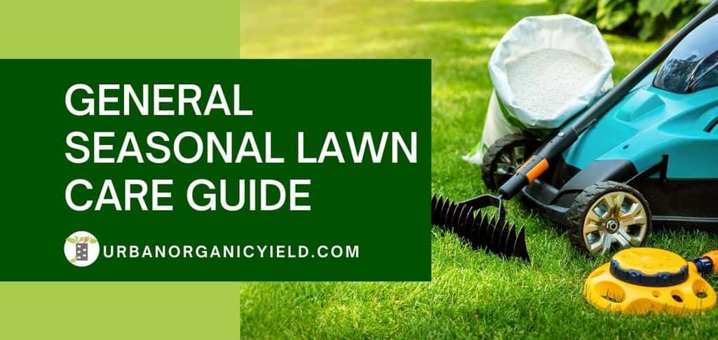 general seasonal lawn care guide